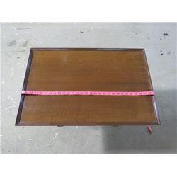"DUNCAN PHYFE COFFEE TABLE (29.5"" X 17"")"