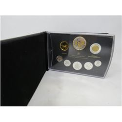 2012 Proof Set with War of 1812 Silver Dollar (in gold).   $225.