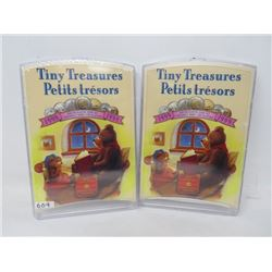 Lot of 2 Tiny Treasure Specimen Sets including 1998, 1999