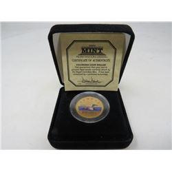 1952-2002 Coloured loon dollar.
