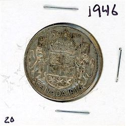 FIFTY CENT COIN (CANADA) *1946* (SILVER)