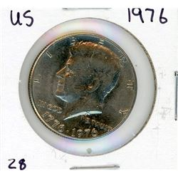 FIFTY CENT COIN (USA) *1976*