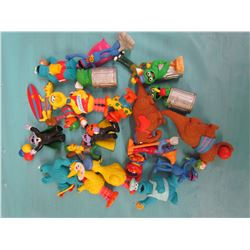 ASSORTED SEASAME STREET AND MUPPET BABY'S FIGURINES