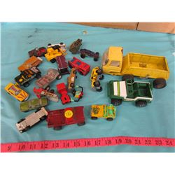 LOT OF ASSORTED CARS AND TRUCKS
