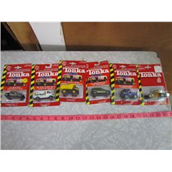 LOT OF 6 TONKA TOYS (ORIGINAL PACKAGE)