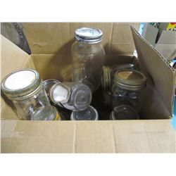 LOT OF CANNING JARS (11)