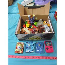 TWO BOXES OF COLLECTABLE TOYS