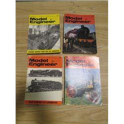 LOT OF 1960'S & 70'S MODEL ENGINEER MAGAZINES