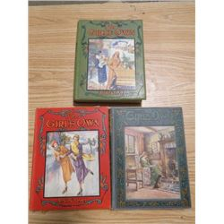 LOT OF 3 THE GIRL'S OWN ANNUAL