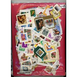 HUGE LOT OF ASSORTED STAMPS (HUNDREDS OF INTERESTING ISSUES) *GREAT START TO ANY COLLECTION*