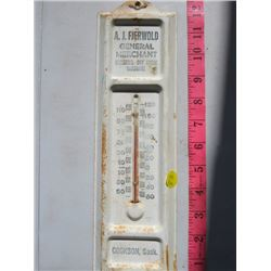THERMOMETER (A.J. FJERWOLD GENERAL MERCHANT)