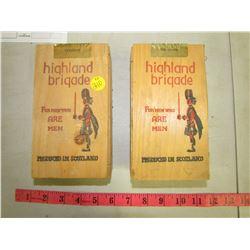 HIGHLAND BRIGADE COLOGNE & PRE SHAVE (COLOGNE BNIB)
