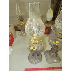 LOT OF 2 COAL OIL LAMPS