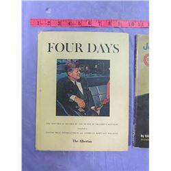 LOT OF 3 JOHN F. KENNEDY BOOKS