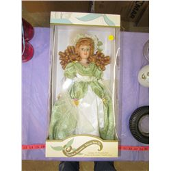 "PORCELAIN DOLL (18"") *IN BOX*"
