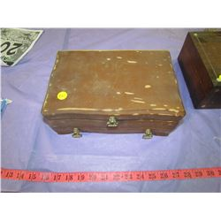 TWO JEWELERY BOXES (ONE COMES WITH JEWELERY)
