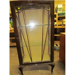 "GLASS DISPLAY CABINET (23""W)"