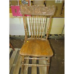 "PRESS BACK CHAIR (21"" BACK)"