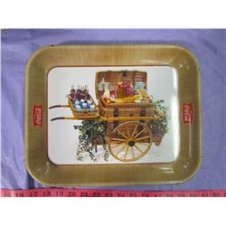 TWO COCA-COLA TRAYS (DIET & PICNIC CART)