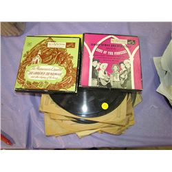 LOT OF 33 AND 45 RPM RECORDS