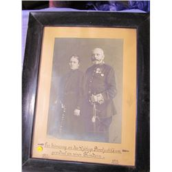 "PICTURE AND FRAME (1871-1911) *23"" X 29""*"