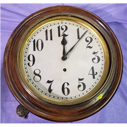 "WALL CLOCK- GILBERT CLOCK COMPANY (NO GLASS) *16""*"