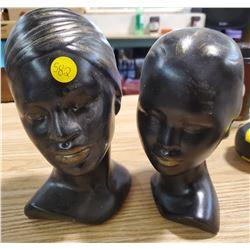 2 CERAMIC HEADS
