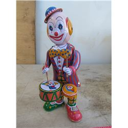 CLOWN DRUMMER (COLLECTABLE TOY)