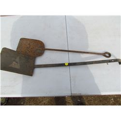 TWO COAL SHOVELS