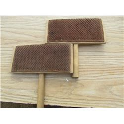 WOOL BRUSHES