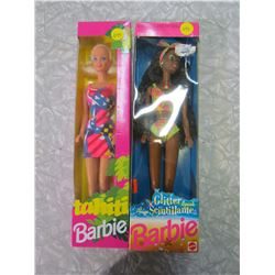 GLITTER BEACH BARBIE AND TAHITI BARBIE