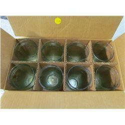 SET OF 8 COCA-COLA GLASSES