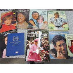 LOT OF 6 ROYALTY BOOKS AND 3 ROYALTY MAGAZINES