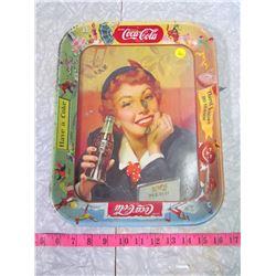 MENU GIRL (COKE TRAY)