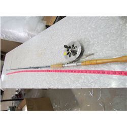 FISHING ROD  AND REEL WITH STEEL LINE (LARGER)