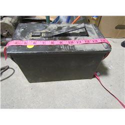ARMY BOX OF METAL SLUGS  (PICKUP PREFERRED, VERY HEAVY)