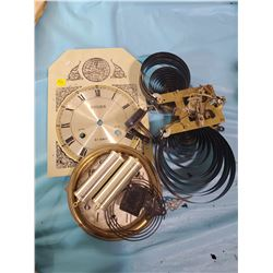 LOT OF CLOCK PARTS