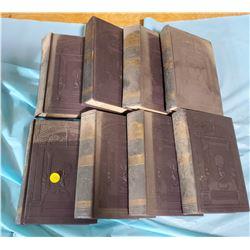"8 ENCYCLOPDIAS ""GAZETEER"" 1920'S VOLUME 1-8"