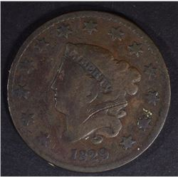 1829 LARGE CENT GOOD