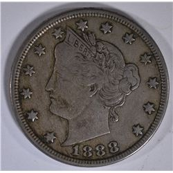 1888 LIBERTY NICKEL VF