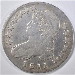 1811 BUST HALF DOLLAR VF/XF