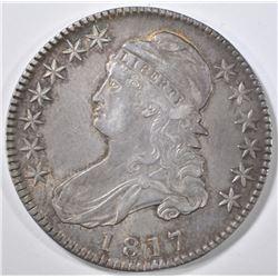 1817 BUST HALF DOLLAR CH AU