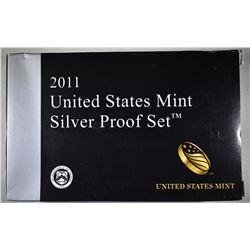 2011 U.S. SILVER PROOF SET ORIG PACKAGING