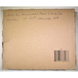 2012 U.S. MINT UNC SET SEALED IN BROWN PACKAGING
