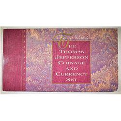 1993 THOMAS JEFFERSON COIN & CURRENY SET