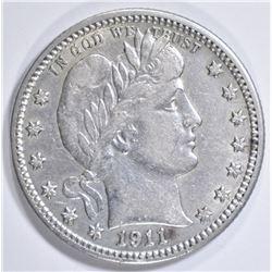 1911 BARBER QUARTER  AU