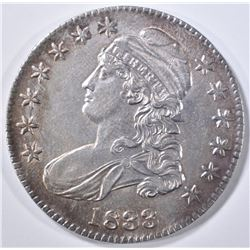 1833 BUST HALF DOLLAR  CH UNC