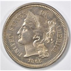 1865 3 CENT NICKEL CH PROOF