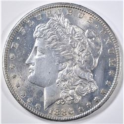 1886-S MORGAN DOLLAR CH BU