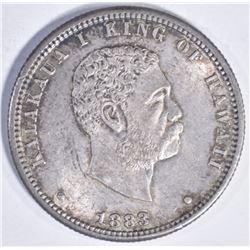 1883 HAWAIIAN QUARTER CU BU NICE!!
